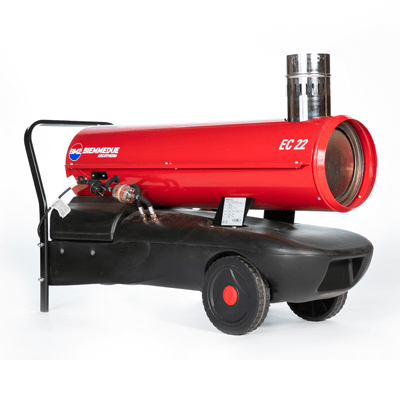 EC22 Dual Voltage Indirect Oil Fired Heater
