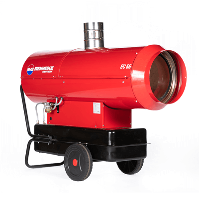 EC55 Dual Voltage Indirect Oil Fired Heater